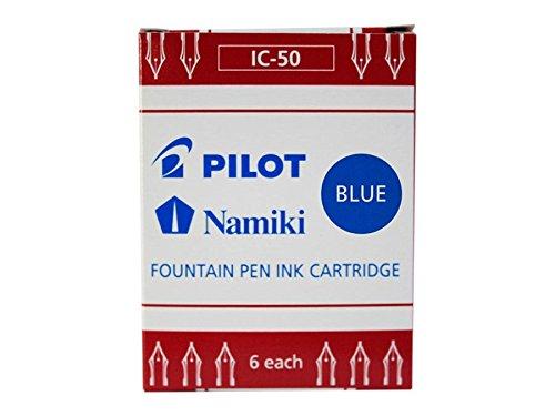 Pilot - Cartucho de tinta azul (6 unidades)
