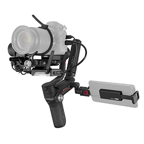 Zhiyun Weebill S [Official] 3-Axis Gimbal Stabilizer for Cameras (Image Transmission Pro Package)