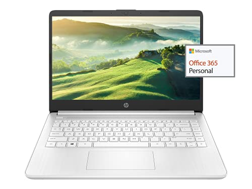 """2021 Newest HP 14"""" HD Laptop Light-Weight, AMD 3020e(Up to 2.6GHz), 8GB RAM, 128GB SSD + 64GB eMMC, 1 Year Office 365, WiFi, Bluetooth 5, USB Type-A&C, HDMI, Webcam, Win10, w/Ghost Manta Accessories"""