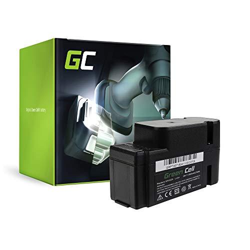 GC® (2.5Ah 28V Li-Ion Panasonic Zellen) Akku für Worx Landroid M1000 Werkzeug, Gartengeräte Ersatzakku