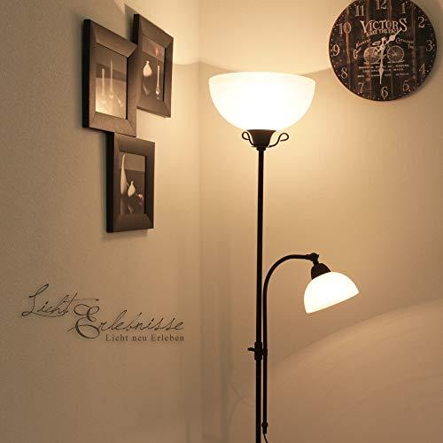 Rustikale Stehleuchte Stehlampe Deckenfluter RY1 2 001
