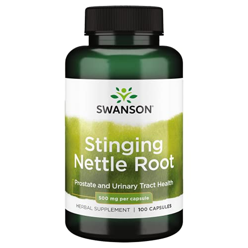 Stinging Nettle Root 500 mg 100 Caps