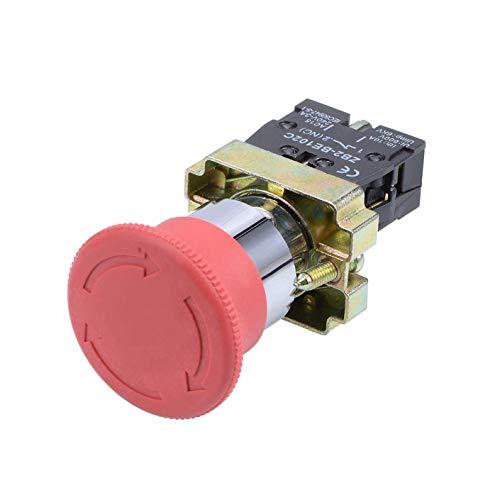 LNIEGE - Botón de encendido (1 unidad), color rojo