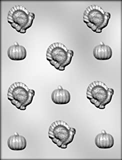 CK Products Turkey and Pumpkin Chocolate Mold