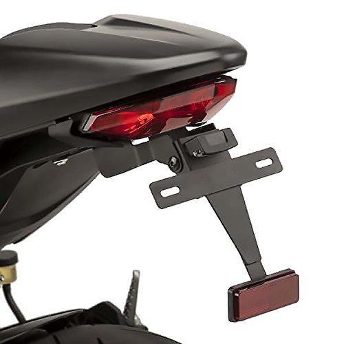 Puig Kennzeichenhalter 9496N für Ducati Monster 797 17'-18', Ducati Monster 821 18', Ducati Monster 1200/S 17'-18', Ducati Supersport 939/S, Ducati, Schwarz