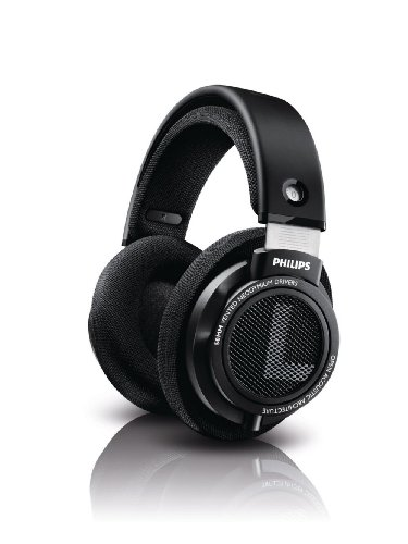 Philips Audio Philips SHP9500 HiFi Precision Stereo Over-Ear Headphones (Black)