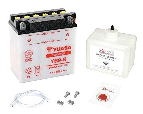 YUASA Batterie für Aprilia SR 50 R DiTech Factory (LC), 2005-2013 (Typ VF), inkl. Pfand €7,50