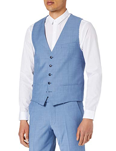 CINQUE Herren CIMONOPOLI-W Business-Anzug Weste, 66 blau, 58