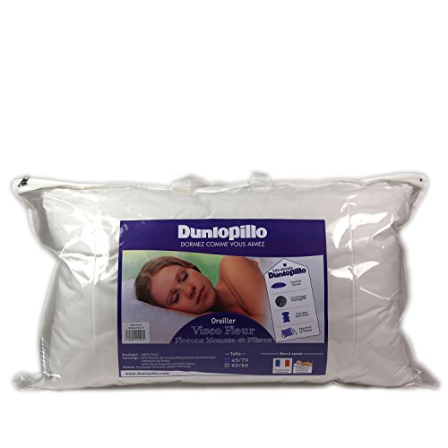 Dunlopillo ORMMO6N045070DPO Kissen, 45x70 cm, Weiß