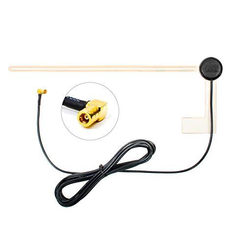 Neu Fiamm DAB / DAB+ Diskret Universale Glasklebeantenne Antenne mit SMB Anschluss für Auto Radio Pioneer Sony .....