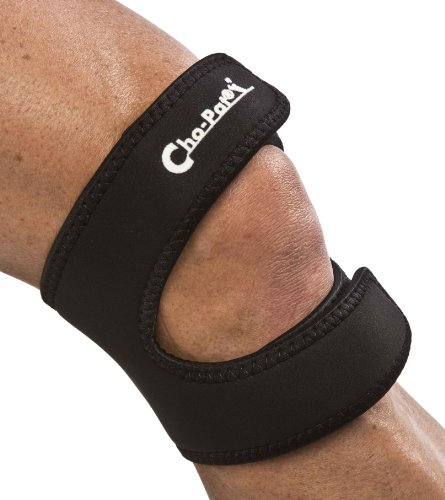 Cho-Pat Dual Action Knee Strap – Provides Full Mobility & Pain Relief For Weakened Knees – Black...
