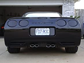C5 Corvette 1997-2004 Acrylic Rear Blackout Kit - 7-Piece Set