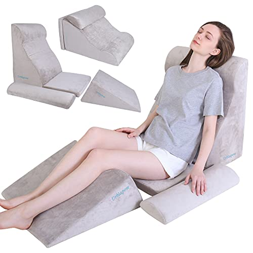 URBLAPOW UP-Ⅲ Wedge Pillow - Bed Wedge Pillow,Post Surgery Foam Pillow...