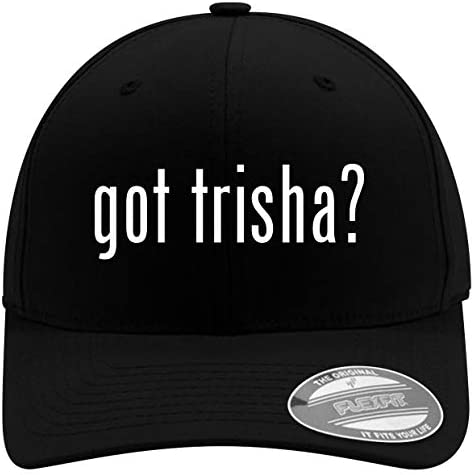 got Trisha Men s Soft Comfortable Flexfit Baseball Hat Black Large X Large product image