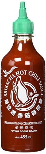 Flying Goose Sriracha Chilisauce, Koriander, 2er Pack (2 x 455 ml)