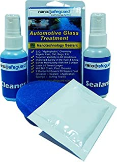 nanosafeguard auto glass & windshield treatment