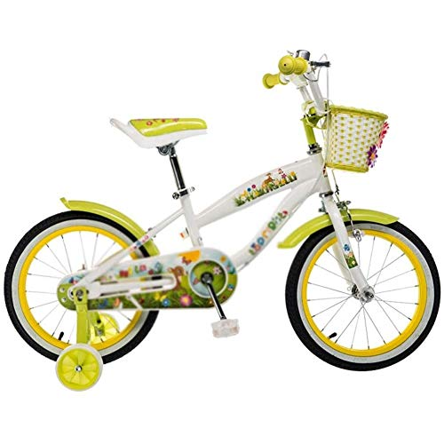 Learn More About Girls Bike Children's Bicycles,Bike with Training Wheels and Basket,Bike for Gi...