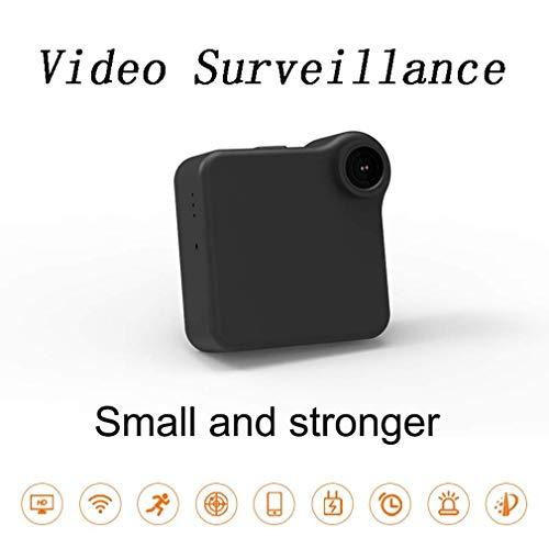 WYJW Überwachungskamera für Audioaufzeichnung, Mini-Kamera 1080P Videorecorder Tragbares Netzwerk Kleine IP-Kamera P2P Wireless mit Bewegungsmelder, App-Steuerung für innen/außen