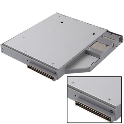 2.5 inch 2nd HDD Hard Drive Caddy SATA for DELL D600/ T61 / D610 / D620 / D630 / D820 / D800 luoshan