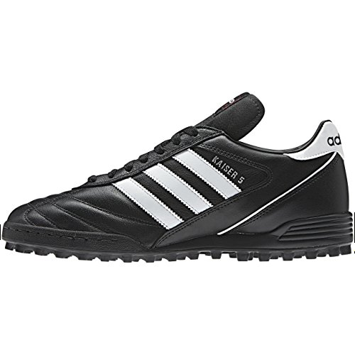 Adidas Kaiser 5 Team Botas de fútbol hombre, Multicolor (Negro/Blanco),38 EU