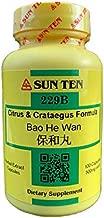 Sun Ten - Citrus & Crataegus Formula Capsules/Bao He Wan/保和丸