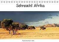 Sehnsucht Afrika - Faszinierende Landschaften im suedlichen Afrika (Tischkalender 2022 DIN A5 quer): Landschaftsimpressionen aus Namibia, Suedafrika und Botswana (Monatskalender, 14 Seiten )