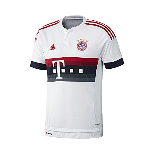 2ª Equipación Bayern de Munich 2015/2016 - Camiseta oficial adidas, talla S