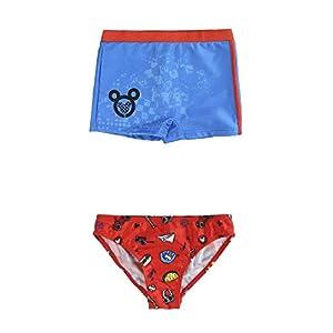 A-C Bañador niño Diferentes Modelos (Boxer y Slip) Diseño Mickey Varias Tallas (1/2) (2/3) (3/4) (4/5)