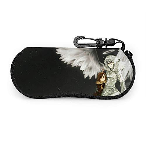 A Certain Magical Index-White Angel Soft Ultra Light - Funda de neopreno portátil para gafas