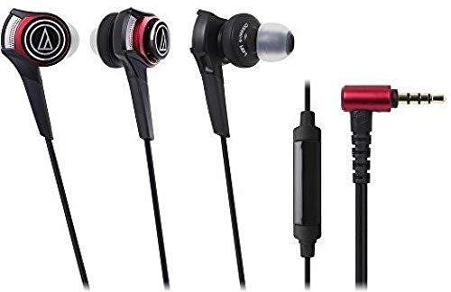 Audio-Technica ATH-CKS990iS Fones de ouvido intra-auriculares de baixo sólido com microfone e controle