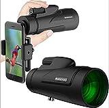 JIAWYJ Teleskop- / Handy-Kamera-Kamera-Monokular, 12 × 50 Zoom-Monokular, HD-Lager-Okular-FMC-Mehrschicht-Beschichtungs-Teleskop im Freien Camping-Konzert/Commodity-Code: WXJ-430