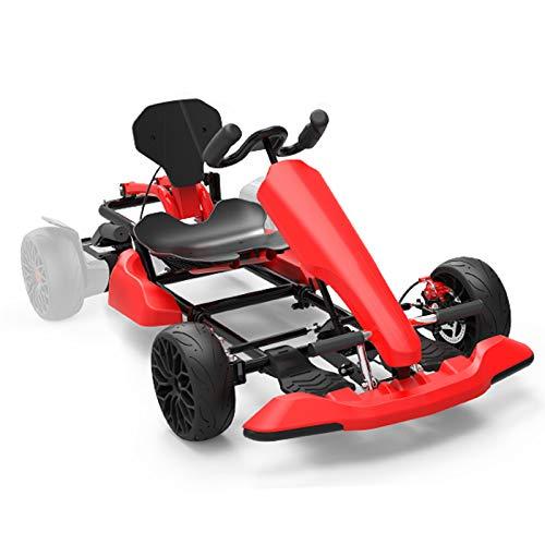 Lamtwheel Go-Kart Soporte Adaptable para Patín Eléctrico, Asiento Kart Compatible Grande para...