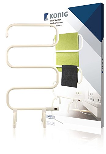 König KN-TH10 secadora eléctrica para toallas 100 W Blanco