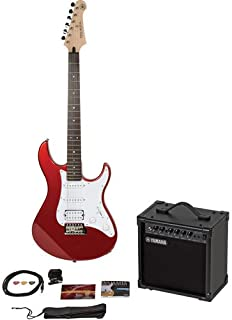 Yamaha Gigmaker Electric Guitar Package; Metallic Red