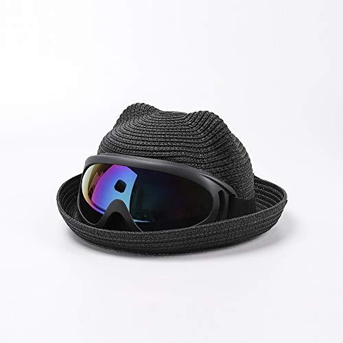 wopiaol Sombreros para niños, Sombreros de Verano nuevos para bebés, Gafas, una Gorra, excursión, Sombreros de Pescador, Sombreros de protección Solar para la Playa, Marea