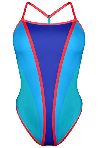 TAYMORY SW47 Bañador Mujer Espalda T Brave by ONA Carbonell (XS)