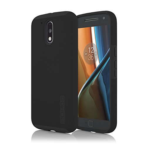 Incipio DualPro for Moto g4/ g4 Plus - Black/Black