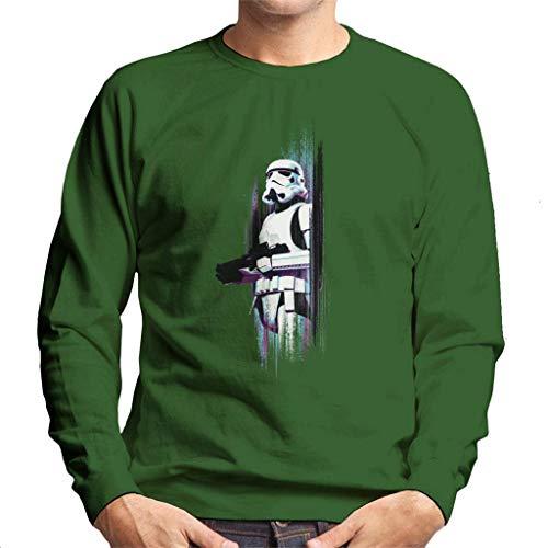 Star Wars Rogue One Stormtrooper Galactic Fade - Sudadera para hombre