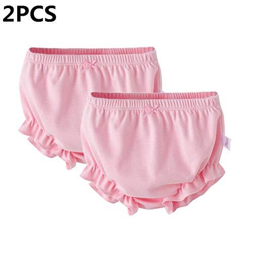 myonly - 2 Bragas Suaves de algodón para bebés y niñas, para...