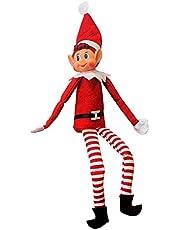 Elves Behavin' Badly 34634 Xmas Festive Smiley Face Elf Soft Toy