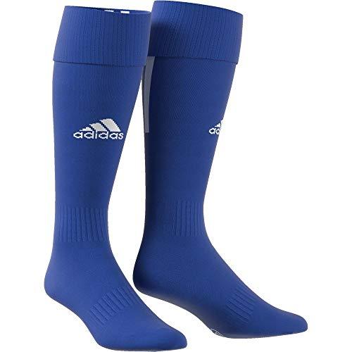 adidas Erwachsene Santos 18 Socken, Bold Blue/White, EU 46-48