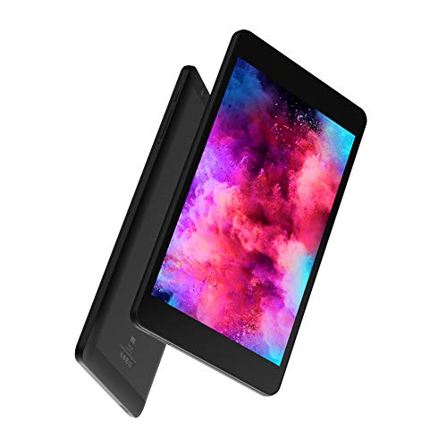 Pusokei Tablet PC con teléfono de 8 Pulgadas y 10 núcleos, con procesador de 10 núcleos, 32 GB de Almacenamiento, Pantalla IPS de 1920x1080, para Android 8.0, 3.8V