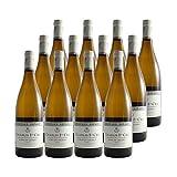 Chablis 1er Cru Côte de Léchet Blanc 2018 - Domaine Bernard Defaix - Vin AOC Blanc de Bourgogne - Cépage Chardonnay - Lot de 12x75cl