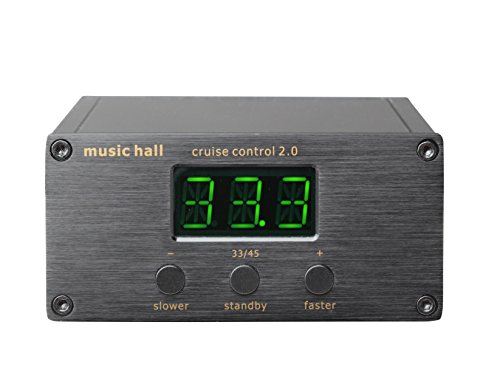 Music Hall Cruise Control 2.0 Selectable 33/45 RPM Outboard Control for Music Hall Turntables