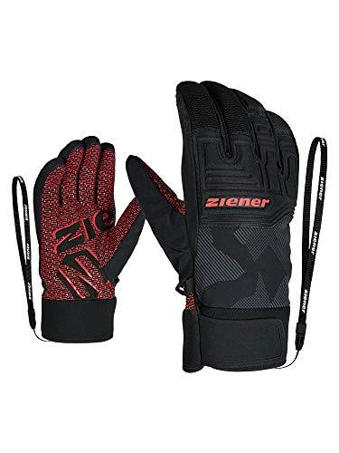 Ziener Erwachsene GARIM AS Ski-Handschuhe/Wintersport, Wasserdicht, Atmungsaktiv, Gray Ink camo, 10