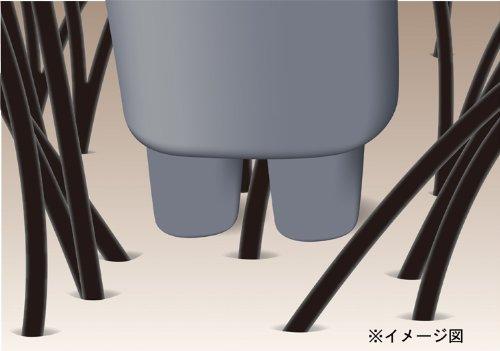 TWINBIRD頭皮洗浄ブラシモミダッシュFLEXシャンパンゴールドSH-2798G
