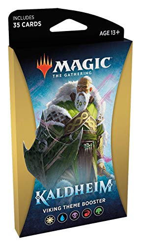Magic The Gathering: Kaldheim| 35 cards, all based on a theme | Theme Booster Viking Unitário - Inglês