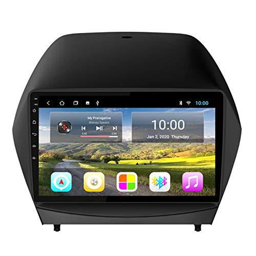 YSSSZ Navigatore GPS per Auto Lettore multimediale Stereo per Hyundai IX35 2010-2013, Radio satellitare Supporto Touch Screen da 9 Pollici FM/Bluetooth/WiFi/SWC/Mirror Link,2G+32G