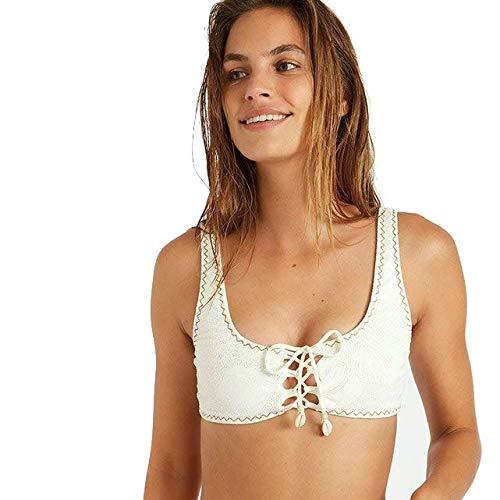 BANANA MOON BORLO Lace – Camiseta de bikini – Blanco blanco L