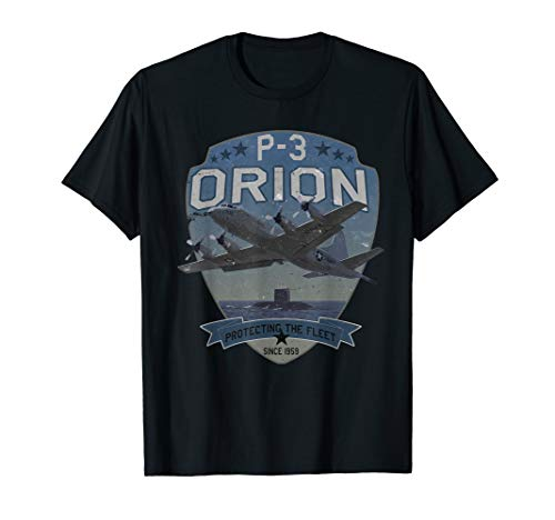 P-3 Orion Sub Hunter ASW Airplane Vintage T-Shirt